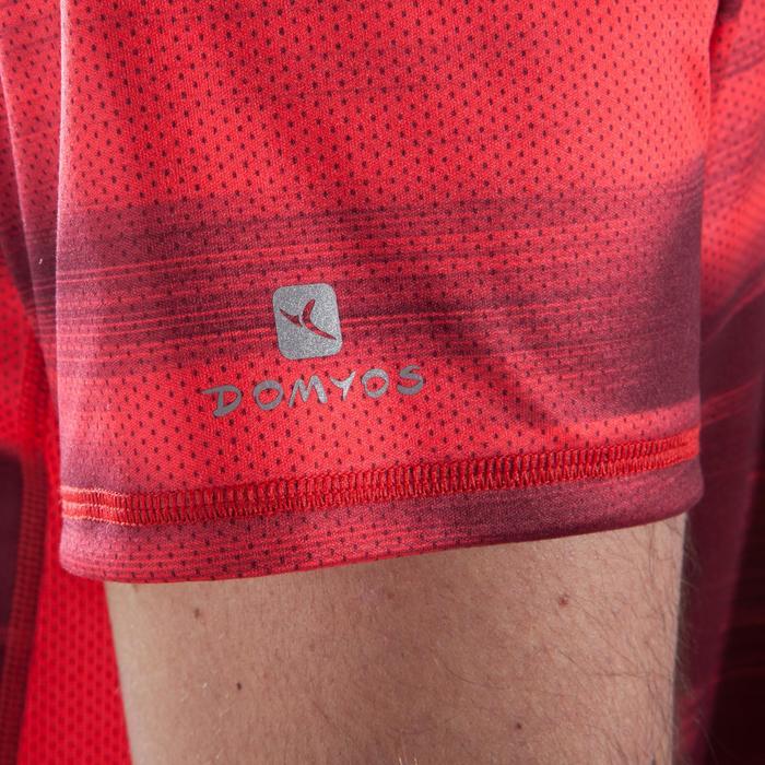 T-Shirt Cardio 120 Fitness Herren rot