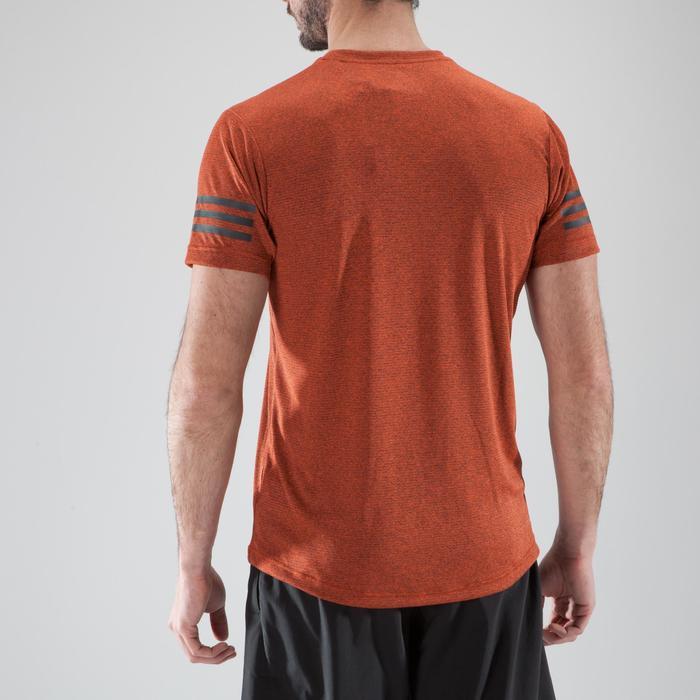 T-shirt fitness cardio-training homme FREE LIFT orange - 1411377