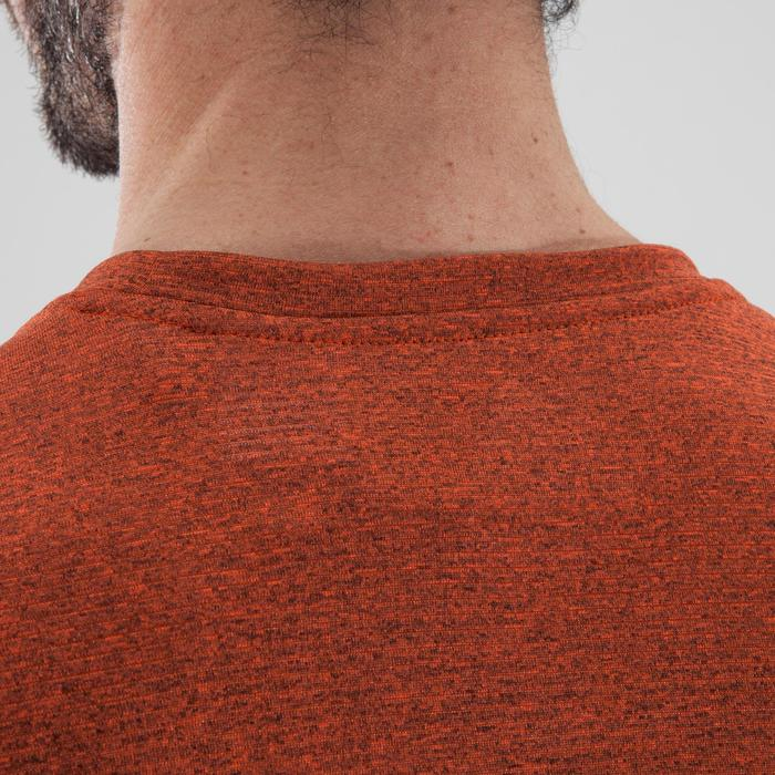 T-shirt fitness cardio-training homme FREE LIFT orange - 1411382