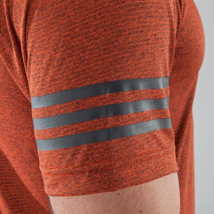 T-shirt fitness cardio-training homme FREE LIFT orange - 1411387
