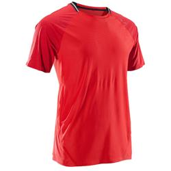 Camiseta fitness cardio hombre FTS 920 ROJO