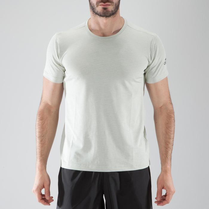 T-shirt fitness cario-training homme ADIDAS FREELIFT beige