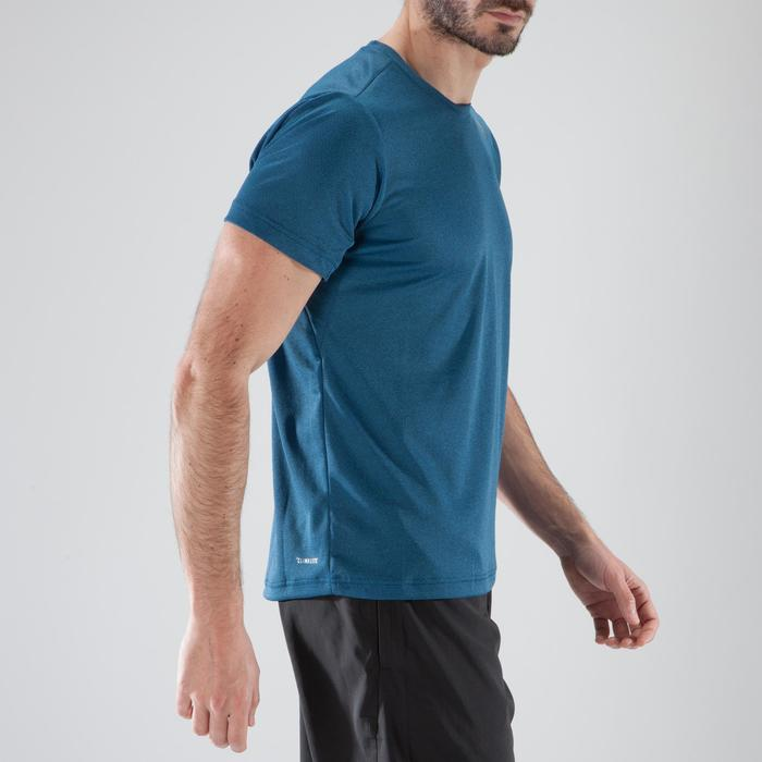 T-shirt fitness cardio-training homme FREELIFT bleu - 1411430