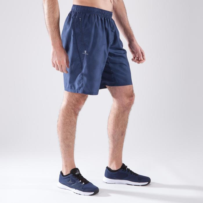Sporthose kurz 120 Fitness-/Cardiotraining Herren grau