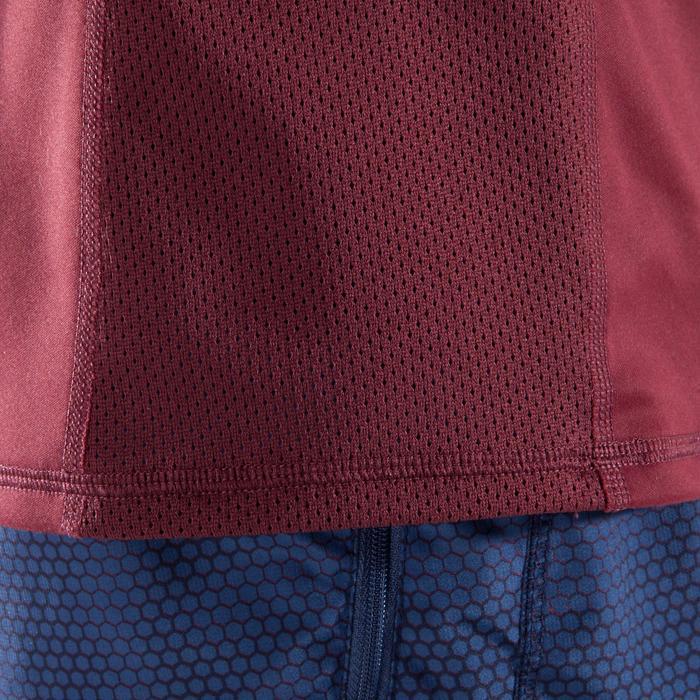 T-shirt fitness cardio homme noir imprimé FTS 120 - 1411517