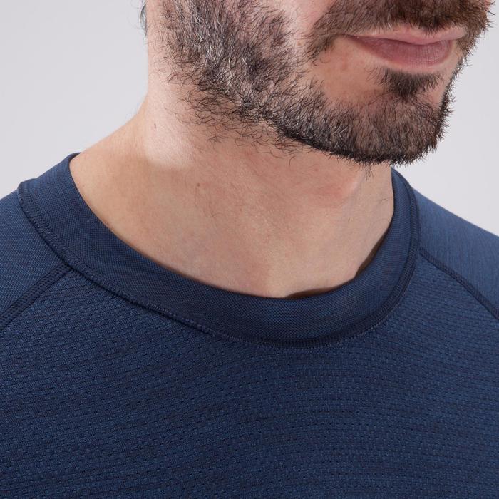 T-shirt fitness cardio homme  FTS900 gris foncé - 1411520