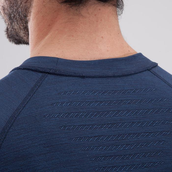 T-shirt fitness cardio homme  FTS900 gris foncé - 1411524