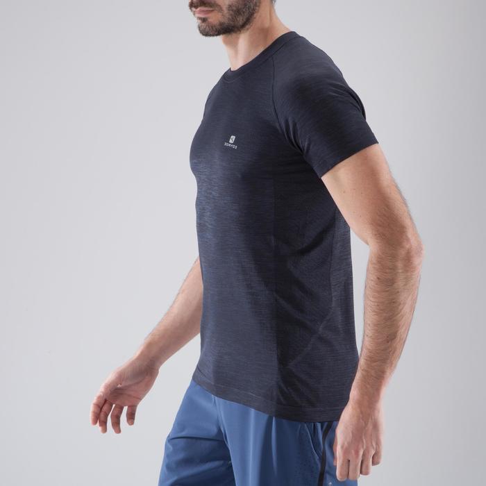T-shirt fitness cardio homme  FTS900 gris foncé - 1411534