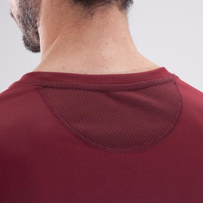T-shirt fitness cardio homme noir imprimé FTS 120 - 1411574