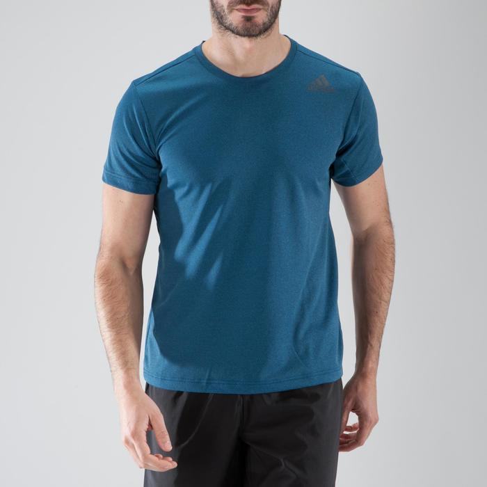 T-shirt fitness cardio-training homme FREELIFT bleu - 1411586