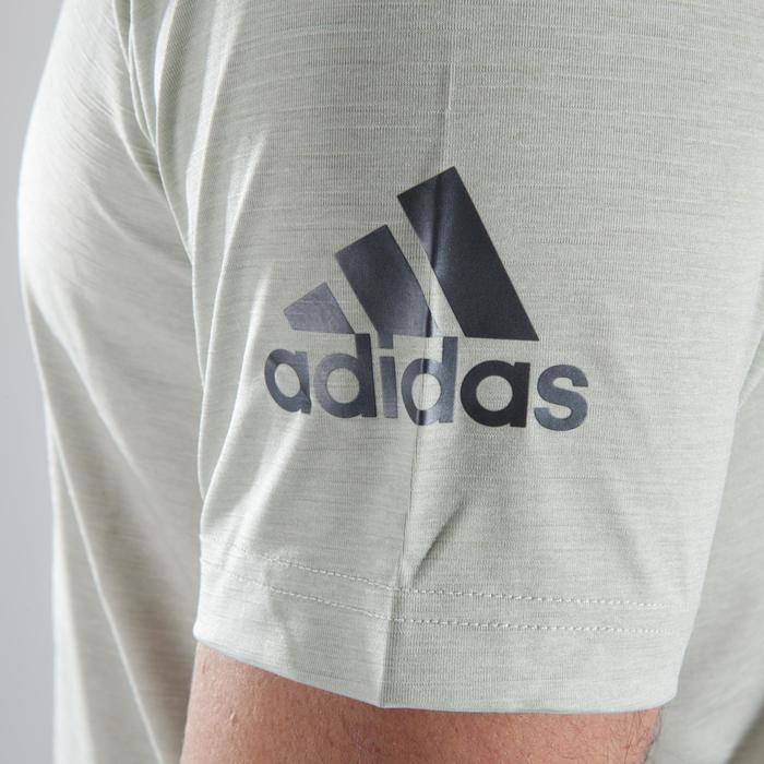 T-shirt fitness cario-training homme ADIDAS FREELIFT beige - 1411618
