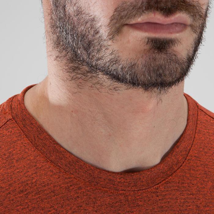 T-shirt fitness cardio-training homme FREE LIFT orange - 1411670