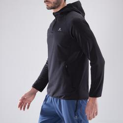 Sudadera fitness cardio-training hombre FSW500 negro