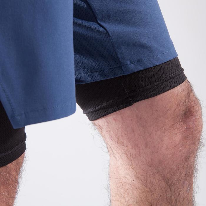 Short fitness cardio homme noir kaki FST520 - 1411728