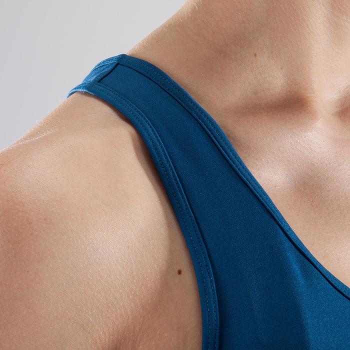 Cardiofitness top My Top 100 voor dames blauw