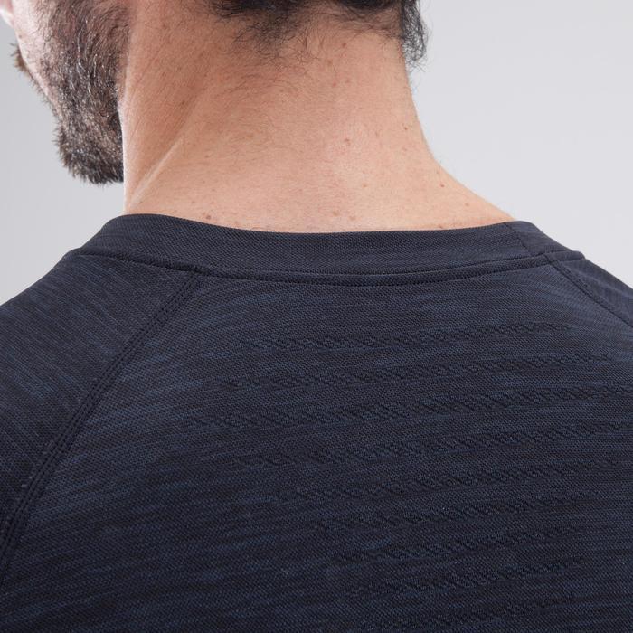 T-shirt fitness cardio homme  FTS900 gris foncé - 1411748