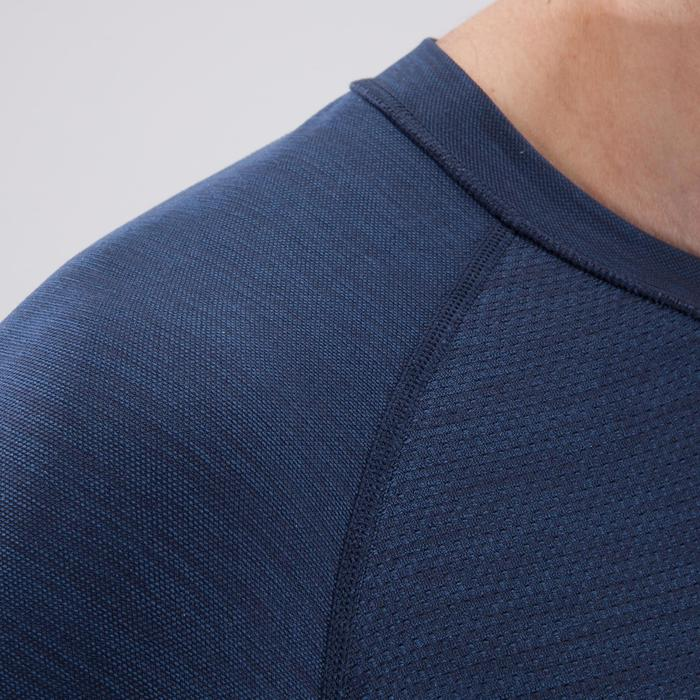 T-shirt fitness cardio homme  FTS900 gris foncé - 1411753