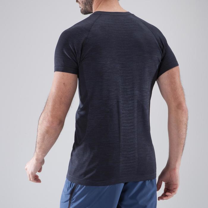 T-shirt fitness cardio homme  FTS900 gris foncé - 1411756