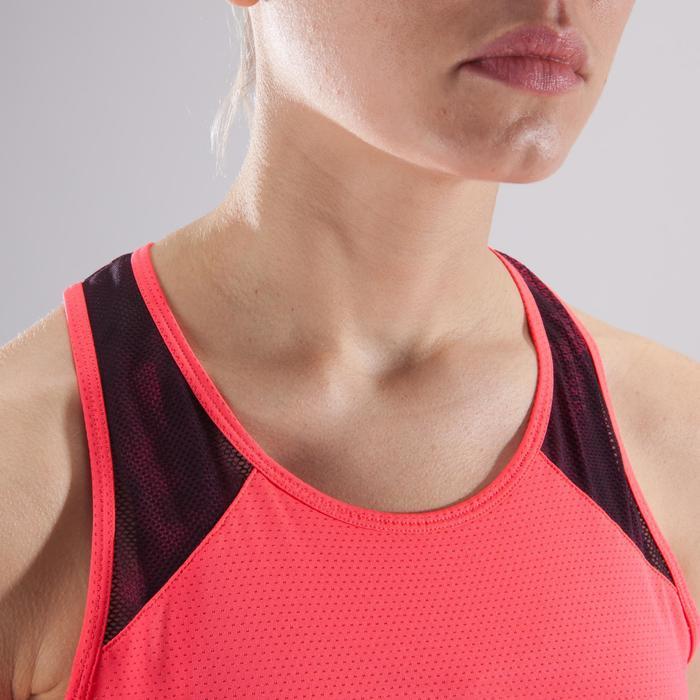 Débardeur fitness cardio femme 500 Domyos - 1411762