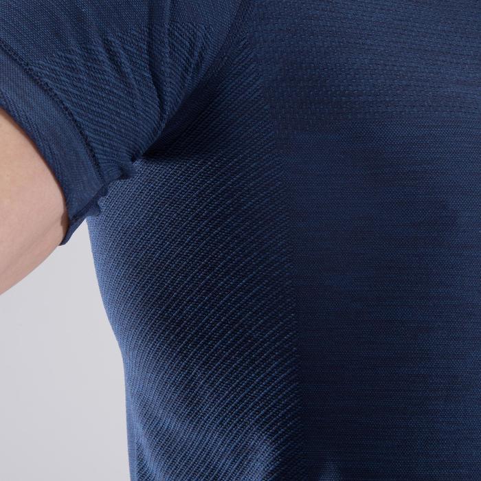 T-shirt fitness cardio homme  FTS900 gris foncé - 1411764