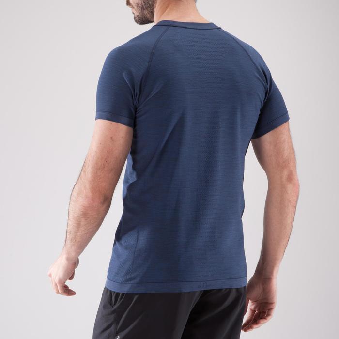 T-shirt fitness cardio homme  FTS900 gris foncé - 1411790