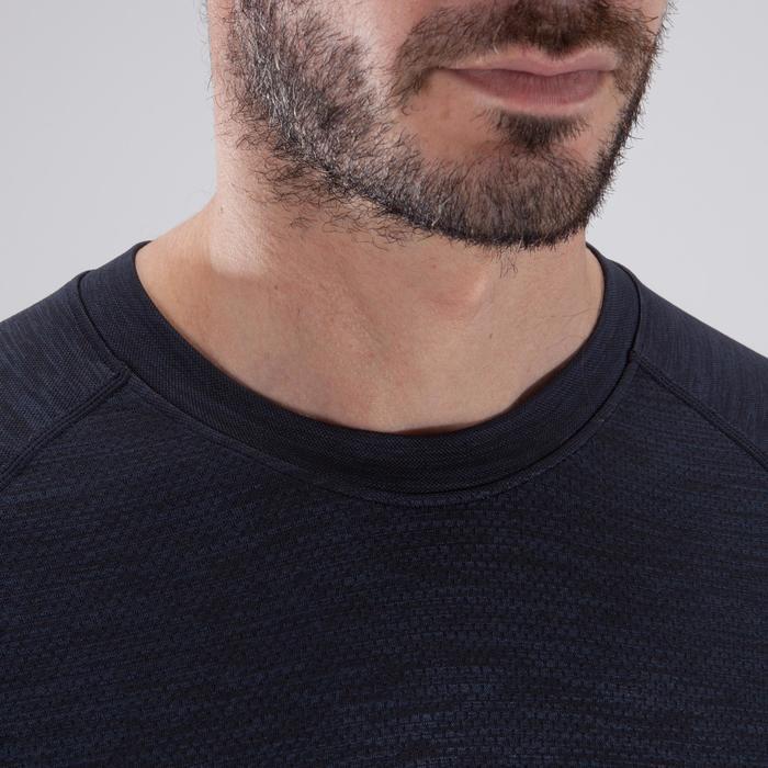 T-shirt fitness cardio homme  FTS900 gris foncé - 1411802