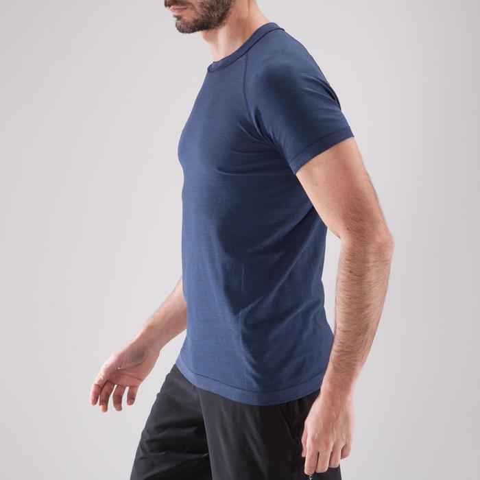 T-shirt fitness cardio homme  FTS900 gris foncé - 1411820