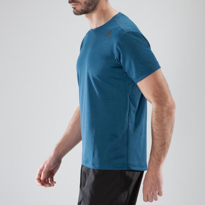 T-shirt fitness cardio-training homme FREELIFT bleu - 1411827