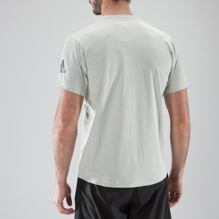 T-shirt fitness cario-training homme ADIDAS FREELIFT beige - 1411830