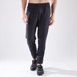 Pantalón fitness cardio training hombre FPA 500 negro