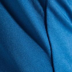 Débardeur cardio fitness femme bleu 100