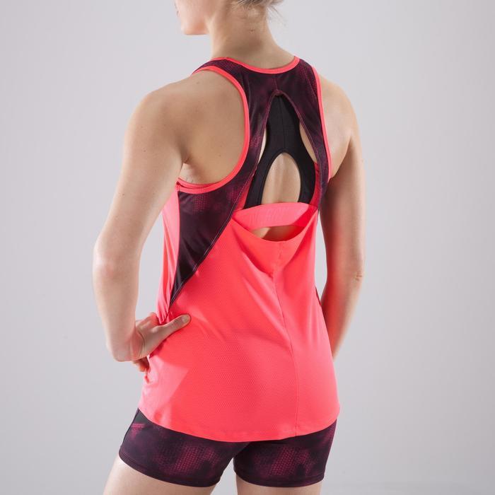 Débardeur fitness cardio femme 500 Domyos - 1411847