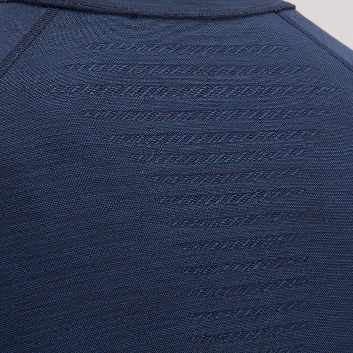 T-shirt fitness cardio homme  FTS900 gris foncé - 1411855
