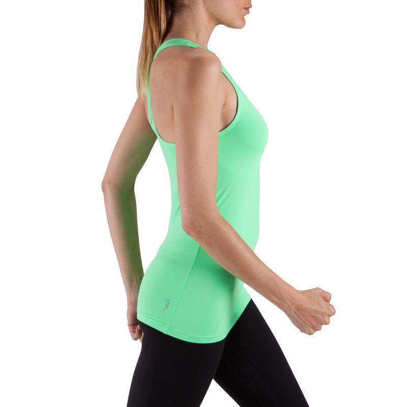 Débardeur MY TOP fitness femme vert