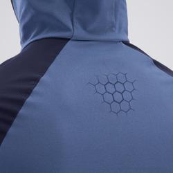 Veste fitness cario-training homme FVE900 bleu noir