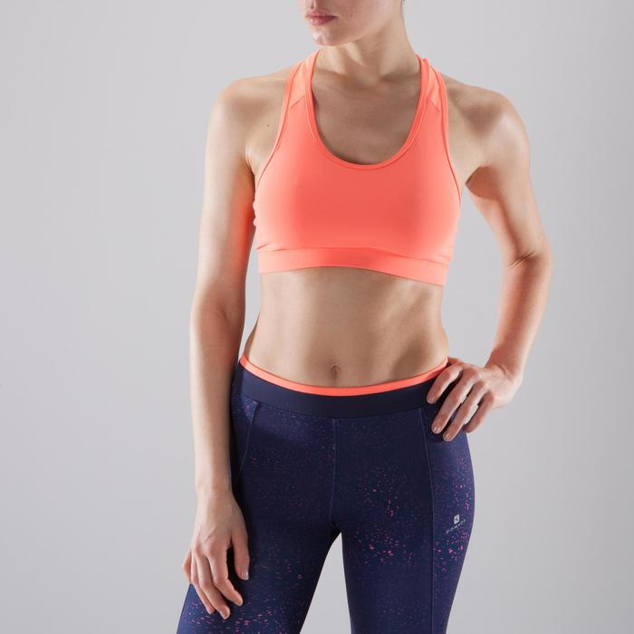 Brassière fitness cardio-training femme 100 - 1412047
