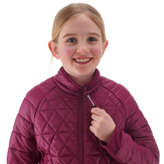 Girl's Warm Waterproof Snow Hiking Jacket SH500 X-Warm 3-in-1 Age 8-14