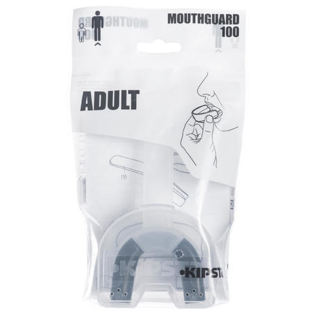 Protège-dents rugby adulte R100 noir