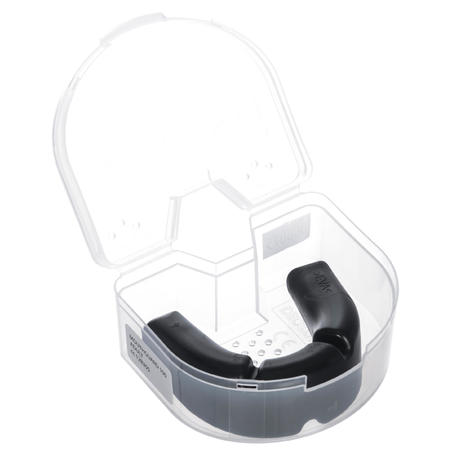 R100 Adult Rugby Mouthguard - Black