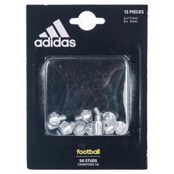 Rugbynoppen 8-11 mm Aluminium Adidas