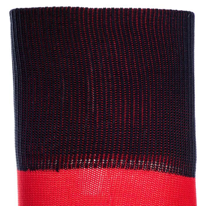 Rugby-Stutzenstrümpfe R500 Erwachsene rot