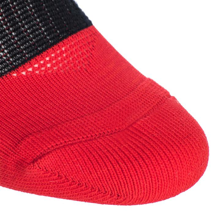 Hoge rugbysokken volwassenen R500 rood