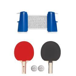 Tafeltennisset Rollnet Small 2 batjes en 2 ballen