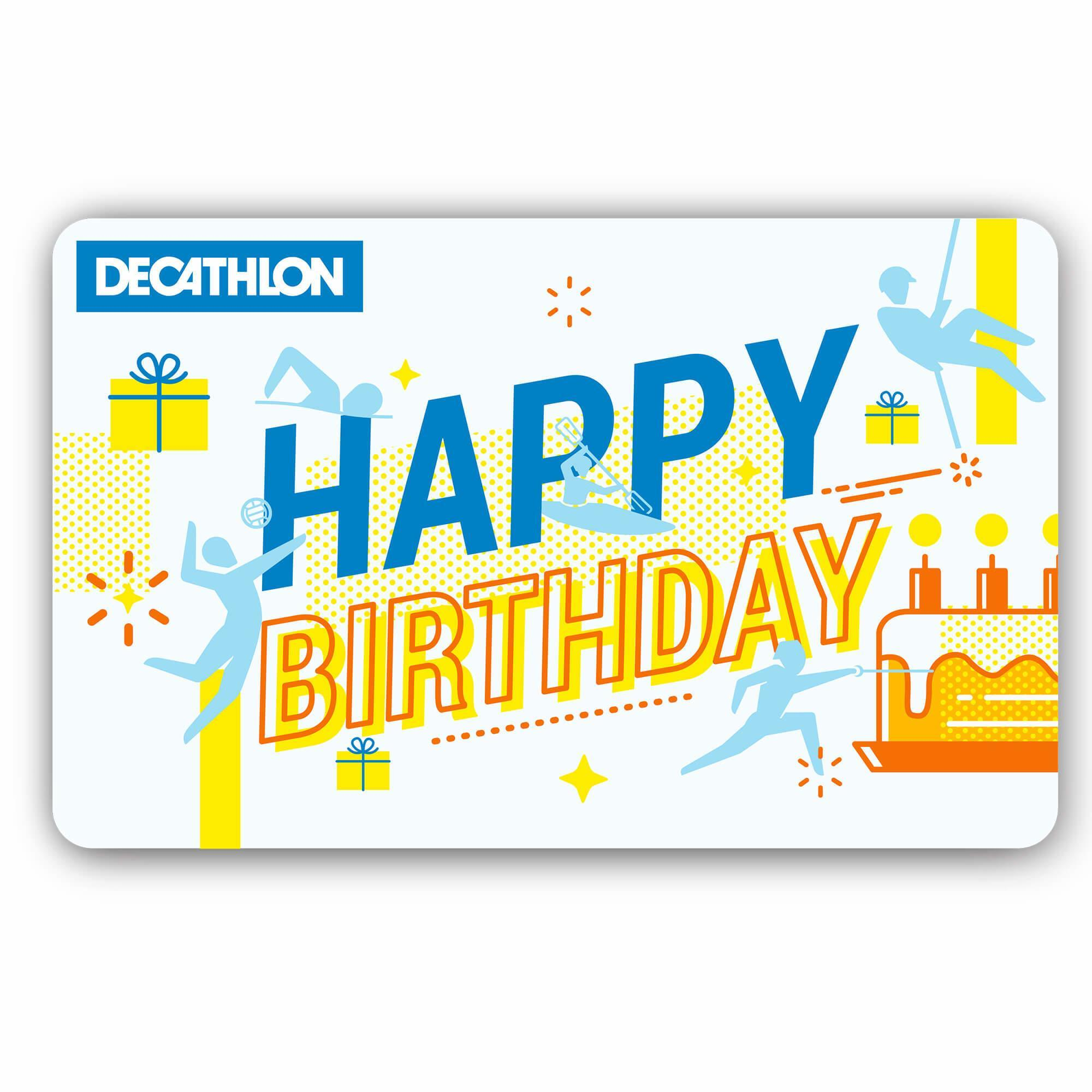 E Gift Card Happy Birthday Giftcard