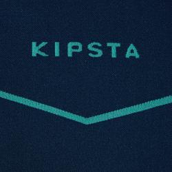 Camiseta térmica de fútbol manga larga Keepdry 500 verde oscuro