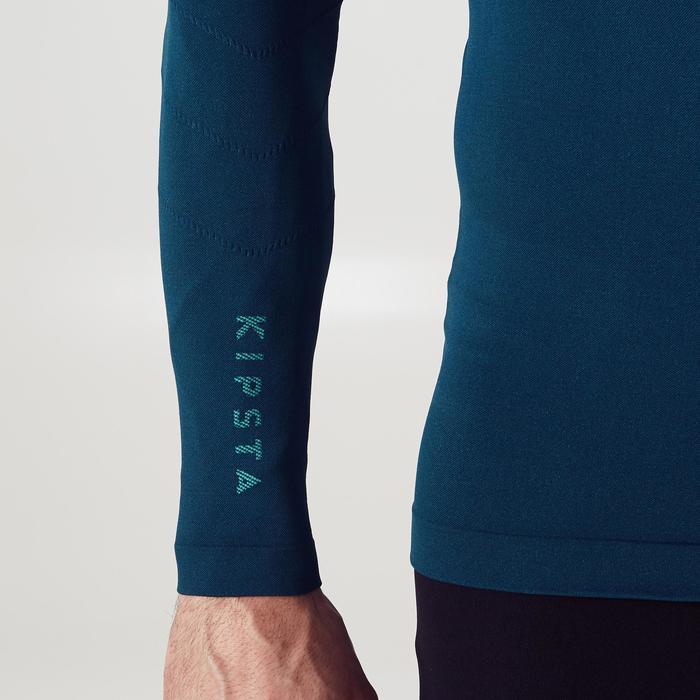 Thermoshirt Keepdry 500 met lange mouwen donkergroen
