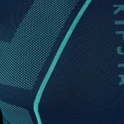 Funktionsshirt lang Keepdry 500 atmungsaktiv Erwachsene dunkelgrün