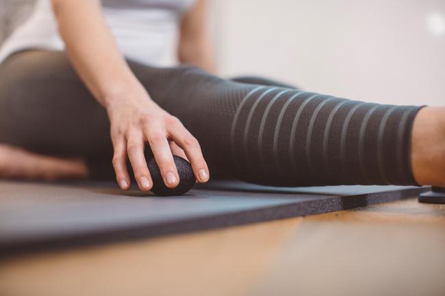 Pilates Stretching Hand Rehabilitation Ball