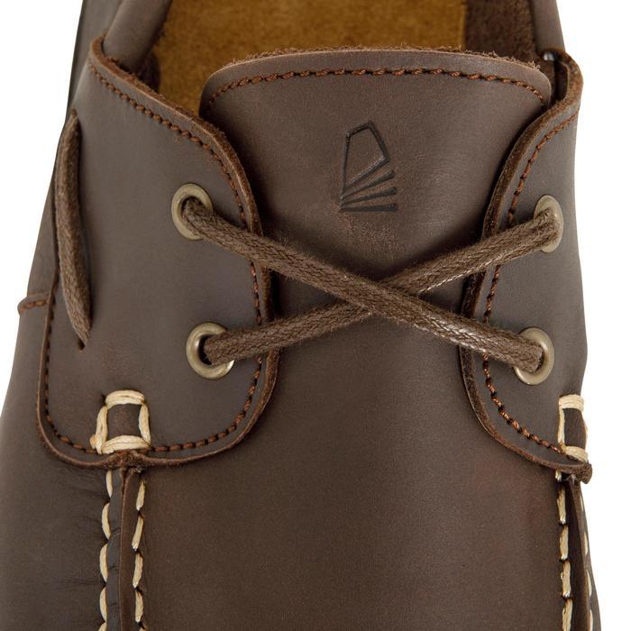 Chaussures bateau cuir homme CR500 - 1412553