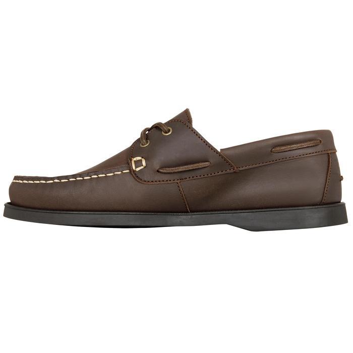 Chaussures bateau cuir homme CR500 - 1412554